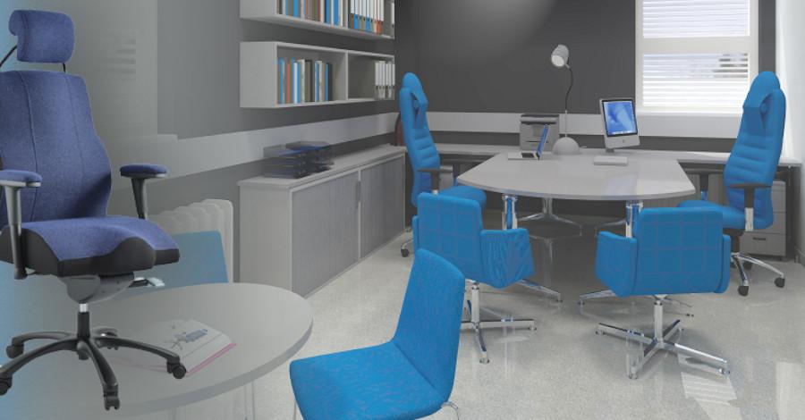 Kvalitné stoličky a kreslá pre zdravé sedenie pri práci